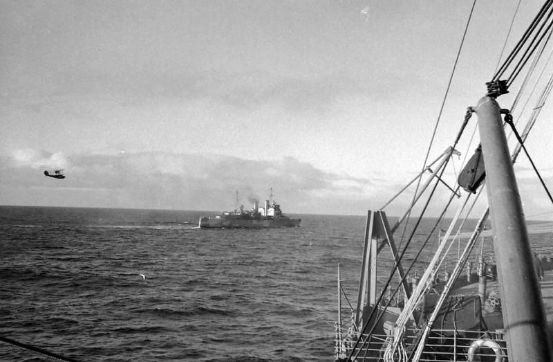 Корабли конвоя QP-1.