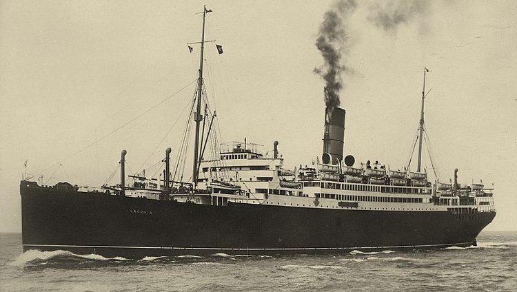 Британский лайнер «Лакония».