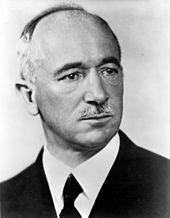 Эдвард Бенеш - Президент Первой Чехословацкой республики.