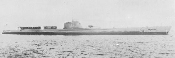 Японская подлодка «I-17».