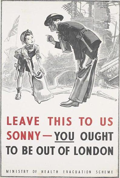 Реклама программы эвакуации.