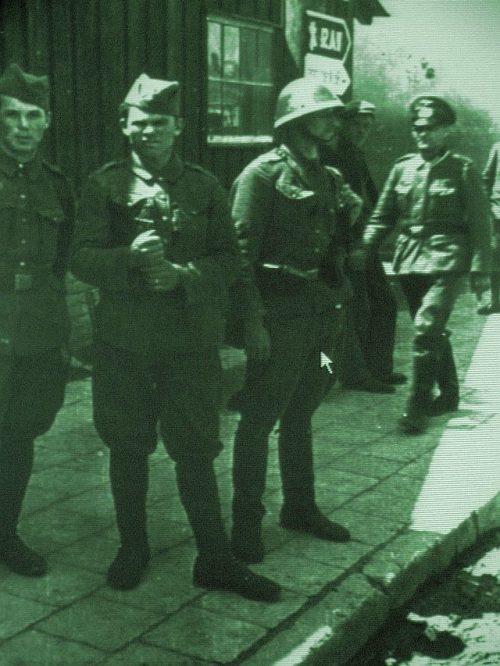 Словаки вошли в Санок.