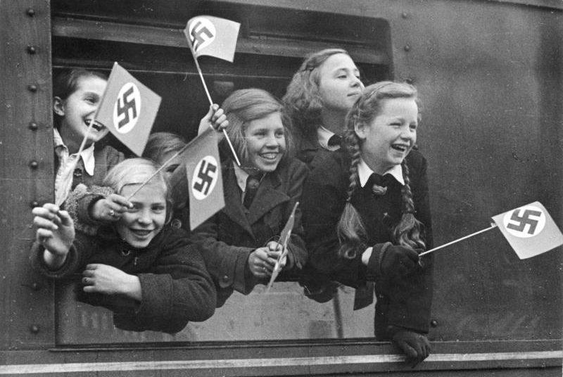 Эвакуация детей из Берлина по программе KLV.