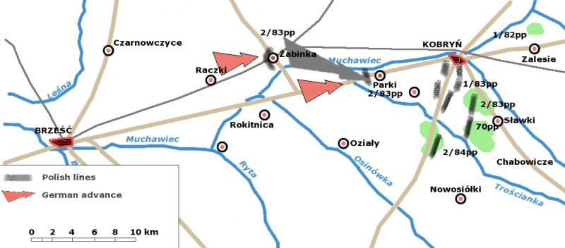 Дислокации войск Польши и Германии на 17 сентября.