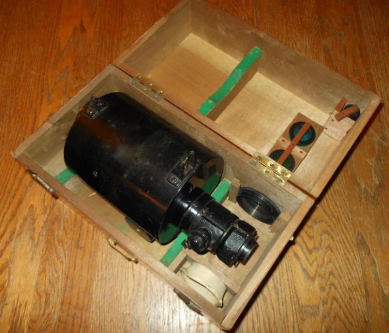 Оптический прицел 10x50 для пикирующих бомбардировщиков Императорского флота.