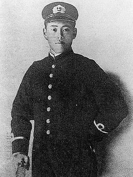 Ямамото в 1905 году.