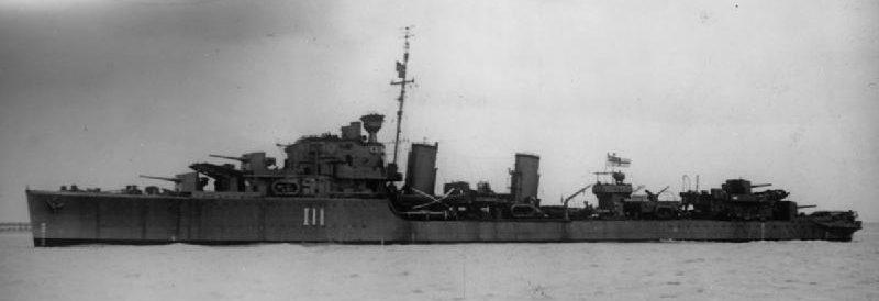 Эсминец «Импалс» из охраны конвоя PQ 1.