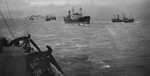 Корабли конвоя «Дервиш».