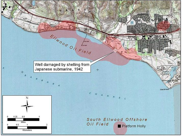 Карта места инцидента.
