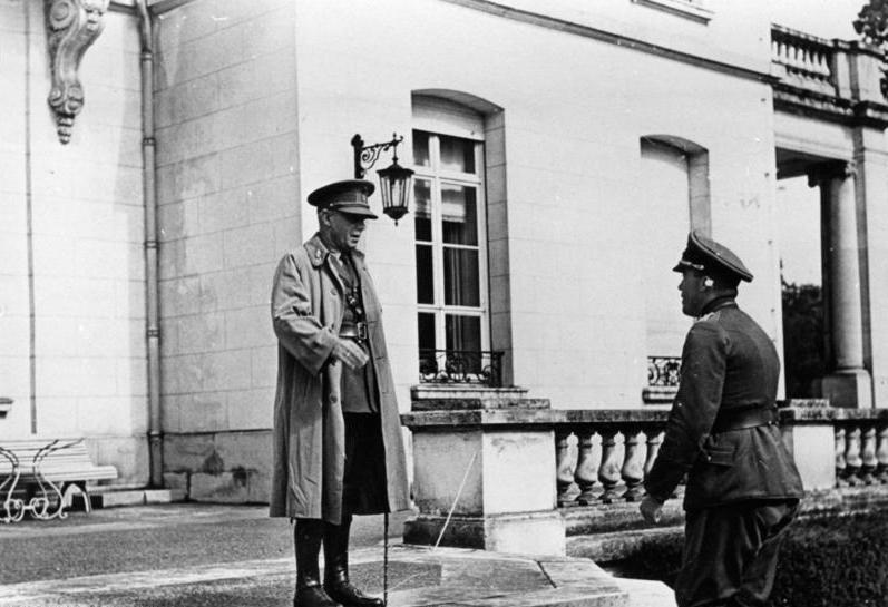 Переговоры о капитуляции Бельгии.