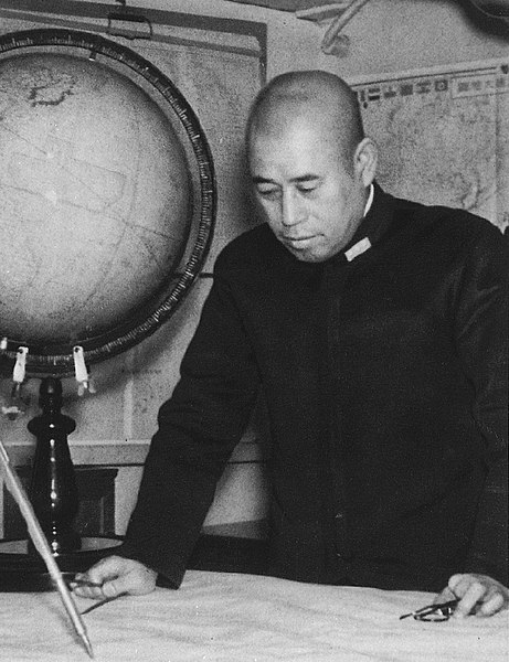Адмирал флота Ямамото. 1940 г.