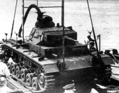 «Подводный танк» для операции «Морской лев».