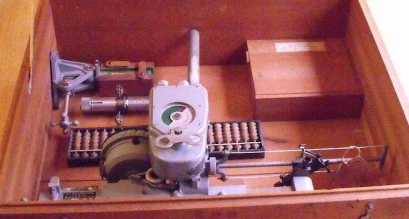 Упаковочный ящик бомбового прицела Type 92.