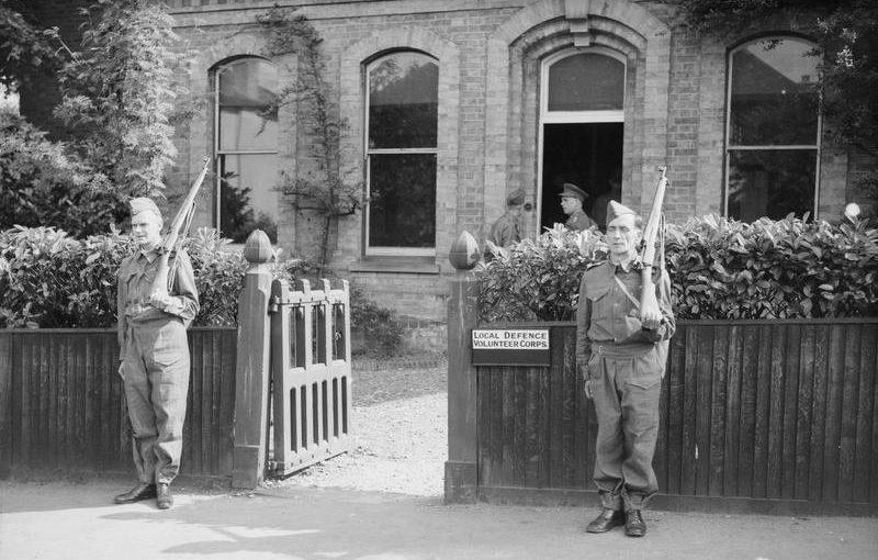 Штаб-квартиры в Бакхерст-Хилл. Эссекс, 1 июля 1940 г.