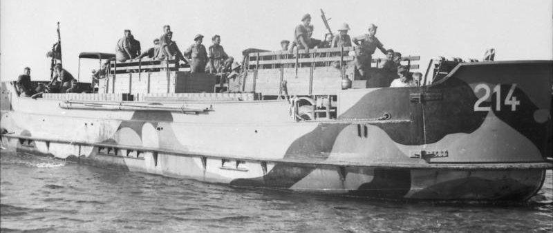 Десантиные катера «Pionierlandungsboot 39».