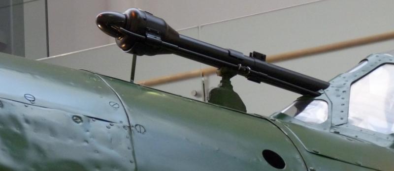 Прицел Туре 95, установленный на бомбардировщике Aichi D4Y.