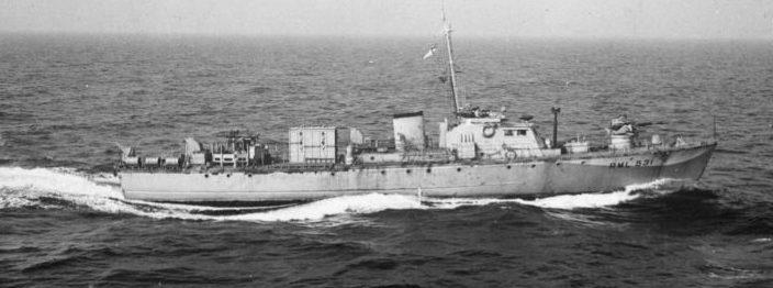 Спасательный катер RML 531 класса «Фэйрмайл Би» у побережья Великобритании. 1940 г.