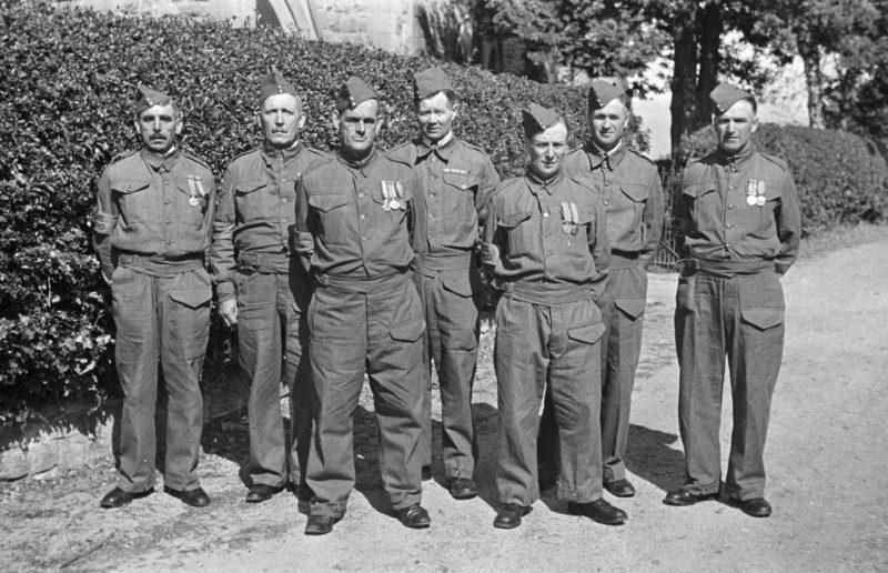 Ополченцы Монтгомеришира. Сентябрь 1940 г.