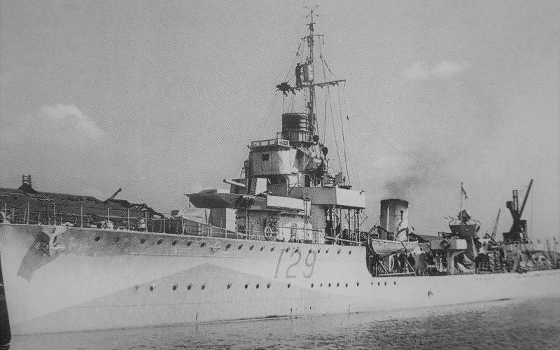 Британский эсминец «Ванесса» 1940 г.