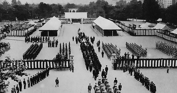 Государственные похороны маршала-адмирала Исороку Ямамото 5 июня 1943 г.