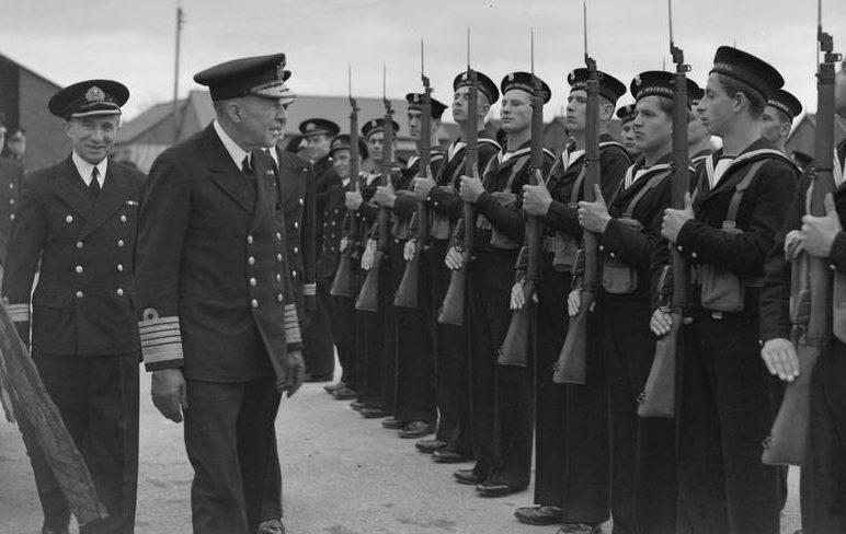 Польские моряки в Королевском флоте. 1941 г.