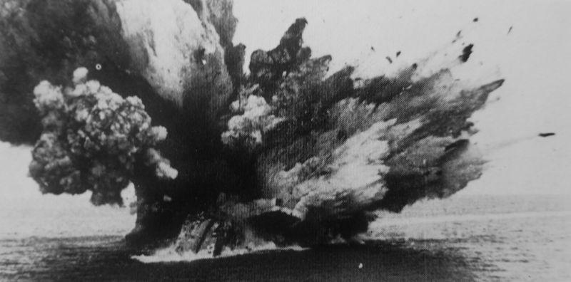 Взрыв линкора «Бархэм». 25 ноября 1941 г.
