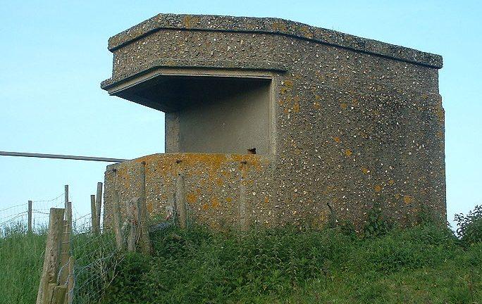 Бункер для прибрежного прожектора.