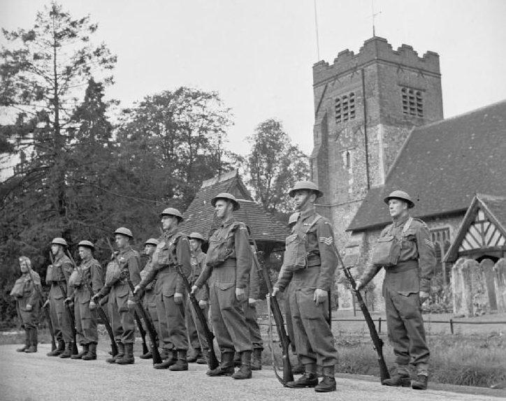 Ополчение Спрингфилда в Эссексе. Август 1941 г.