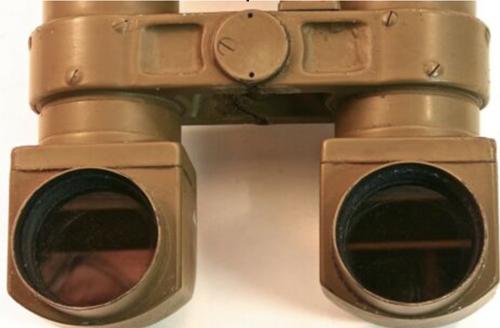 Артиллерийская стереотруба 8x6.2º с треногой.