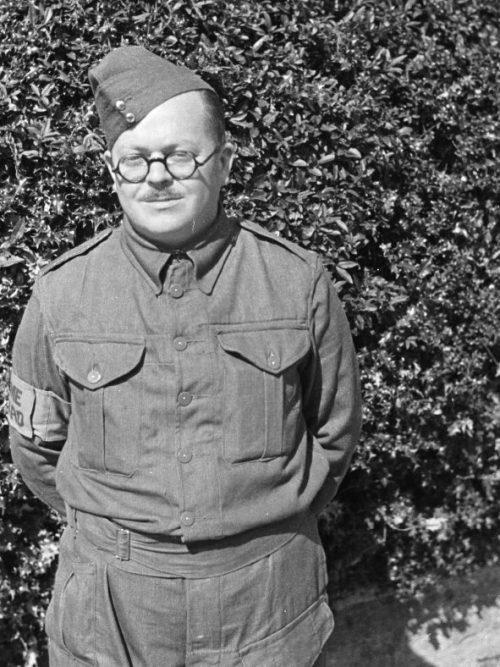 Член отряда ополчения Монтгомеришира. 1941 г.