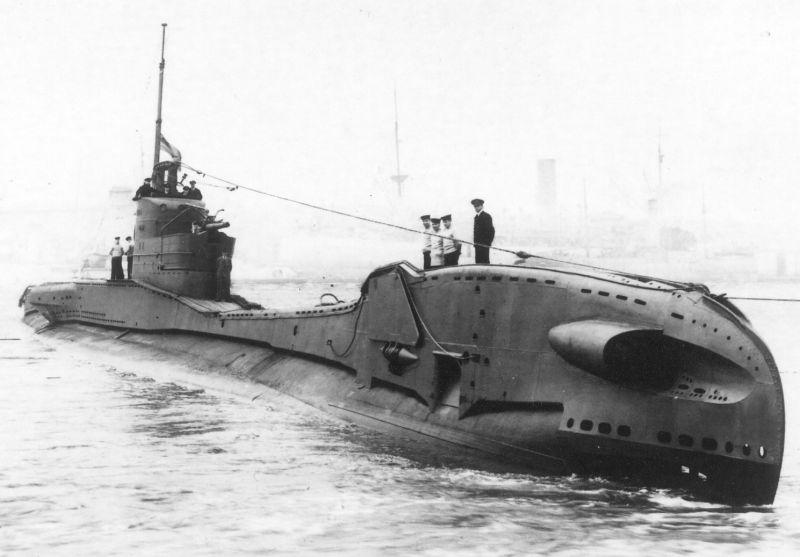 Подводная лодка «Торн». 1941 г.