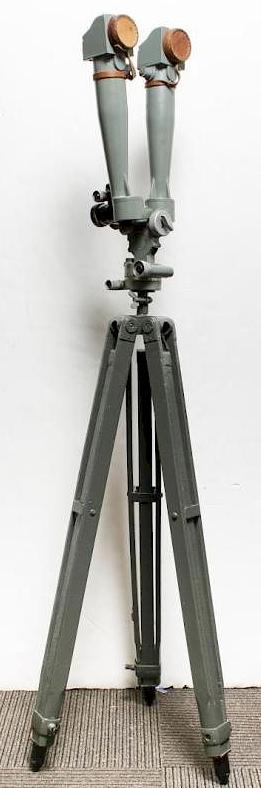 Стереотруба командира артиллерийской батареи.