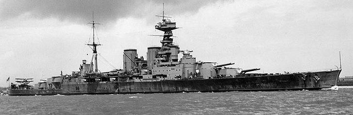 Линейный крейсер «Худ». 1941 г.