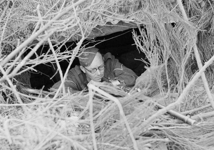 Ополчение на тренировке. 1941 г.