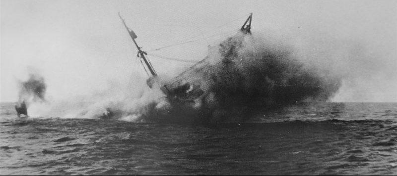 Гибель транспорта «Кулебра» в Атлантике. 25 февраля 1942 г.