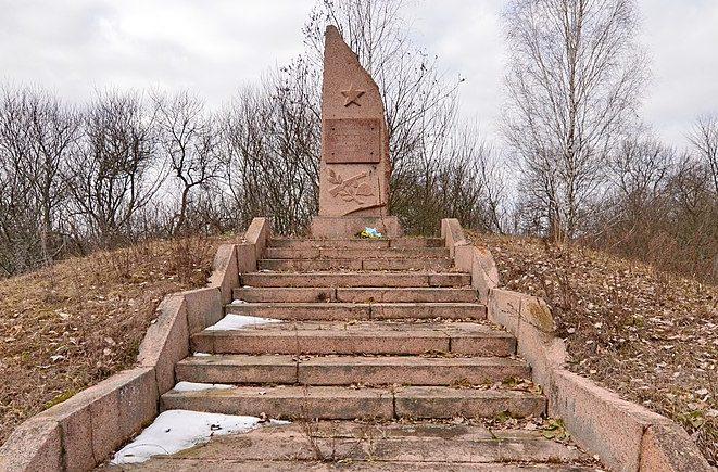 с. Любарка Народичского р-на. Памятник воинам-односельчанам.