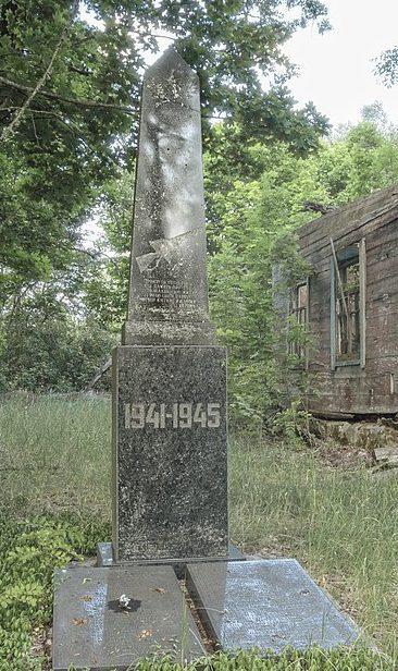 с. Малые Миньки Народичского р-на. Памятник воинам-односельчанам.