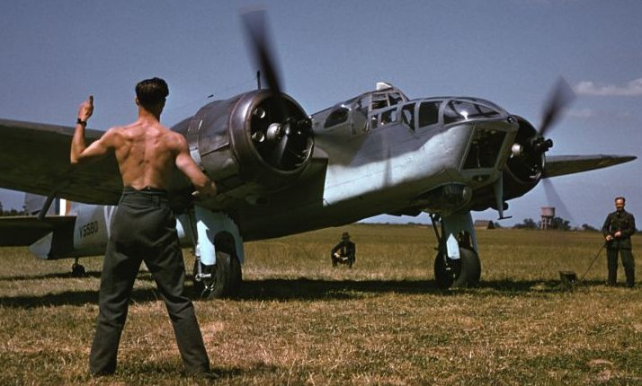 Бомбардировщик Бристоль Бленхейм Mk. 1941 г.