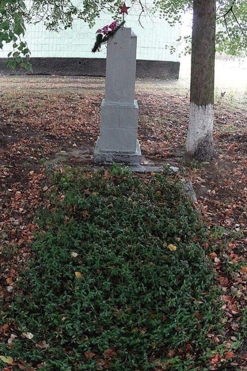 с. Мастеров Новоград-Волынского р-на. Братская могила 26 советских воинов.