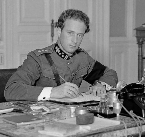 Король Бельгии Леопольд III был сторонником политики нейтралитета.