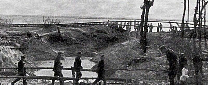 Хельская коса после капитуляции поляков.