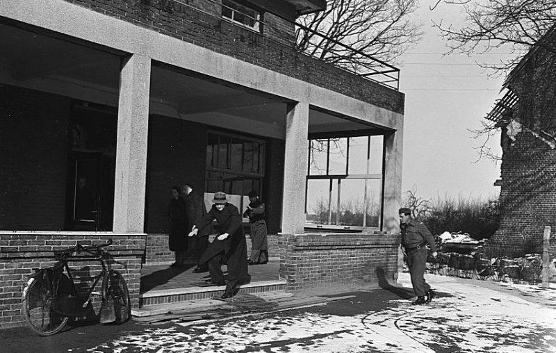 Историческая реконструкция события в 1948 году.