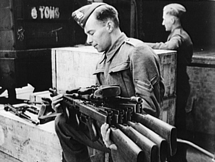 Поставки стрелкового оружия по Ленд-лизу в Англию. Август 1941 г.