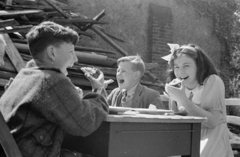 Продовольственная помощь из Америки. Лондон, сентябрь 1941 г.