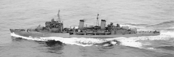 Легкий крейсер «Edinburgh» - флагман конвоя PQ-6. Декабрь 1941 г.