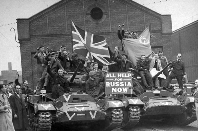 Пехотные танки Валентайн Mk.II для Советского Союза. 1941 г.