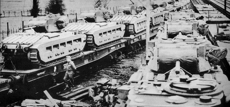 Британские танки в СССР. 1941 г.