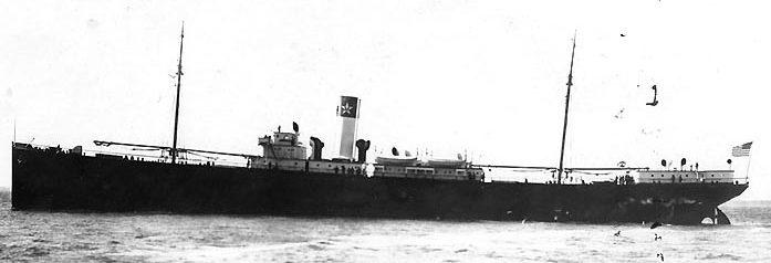 Грузовое судно « El Occidente» из конвоя QP-10. Апрель 1942 г.