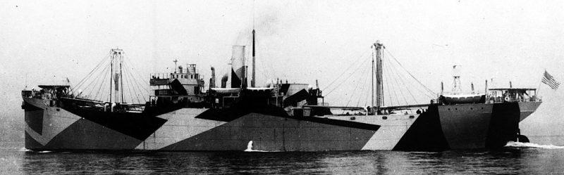Грузовое судно «West Gotomska» из конвоя QP-14. Апрель 1942 г.