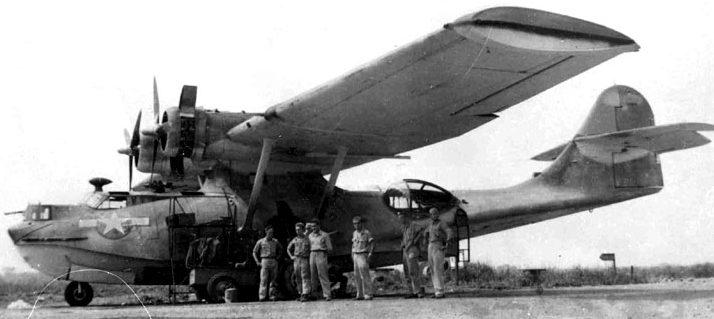 Морской патрульный гидросамолёт PBY «Catalina», поставляемый в СССР. 1942 г.